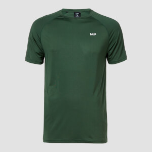 Męski T-shirt treningowy z kolekcji Essentials MP  – Hunter Green