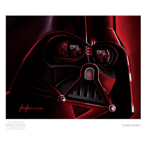 "Rogue One: A Star Wars Story ""Lord Vader"" Giclee by Christian Waggoner"