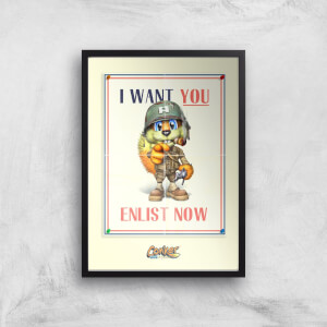 Conker I Want You Giclee Art Print
