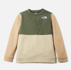 The North Face Boys' Slacker Crew Neck Sweatshirt - Thyme
