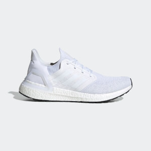 adidas Men's Ultraboost 20 Running Shoes - White
