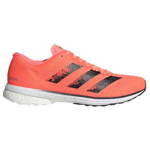 adidas Men's Adizero Adios 5 Running Shoes - Signal Coral