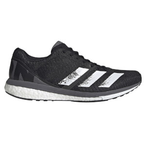 adidas Men's Adizero Boston 8 Running Shoes - Core Black