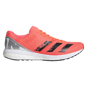 adidas Men's Adizero Boston 8 Running Shoes - Signal Coral