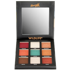 Barry M Cosmetics Wildlife Eyeshadow Palette - Tiger 12.6g