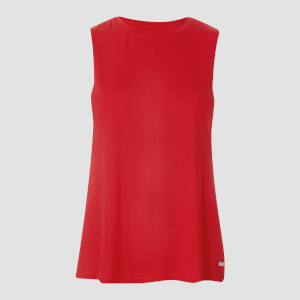 Essentials Training Drop Armhole Vest - Danger