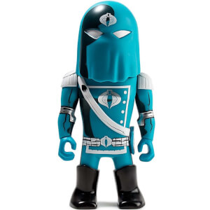 Kidrobot Transformers vs. G.I. Joe Cobra Commander Vinyl Figure
