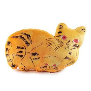 Kidrobot Yellow Cat Pillows Plush by Andy Warhol