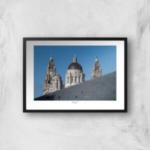 Liverpool Skyline Giclée Art Print