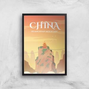 Visit... China Giclée Art Print