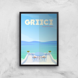 Visit... Greece Giclée Art Print