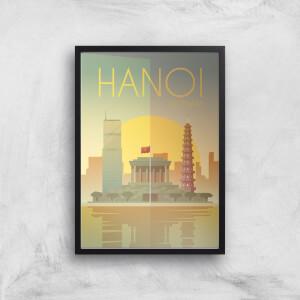 Visit... Hanoi Giclée Art Print