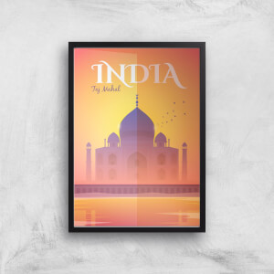 Visit... India Giclée Art Print