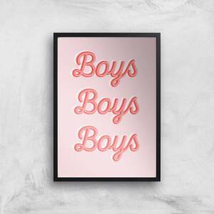 Boys Boys Boys Giclée Art Print