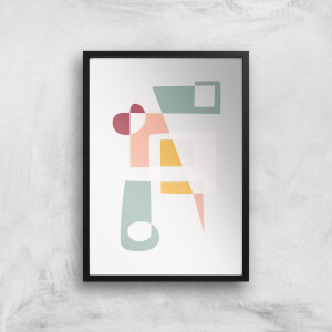 Get Into Shape Giclée Art Print