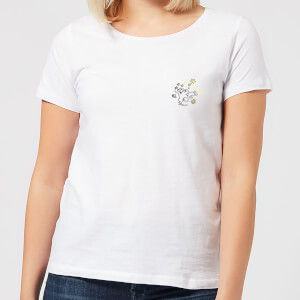 Simons Cat Butterfly Chase Women's T-Shirt - White
