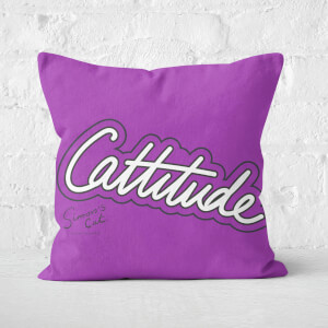 Simons Cat Cattitude Square Cushion