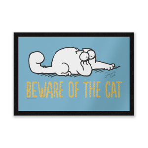 Simons Cat Beware Of The Cat Entrance Mat