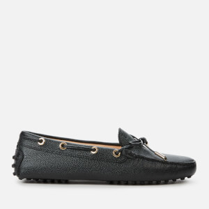 Tod's Women's Heaven Lace/Eyelets Driving Shoes - Nero