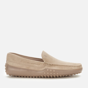 Tod's Men's Suede Slip-On Loafers - Natural