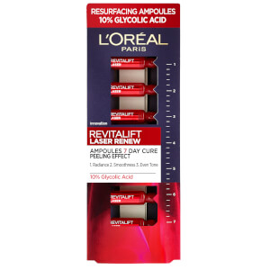 L'Oreal Paris Revitalift Laser Ampoules 10% Glycolic Acid (7x1ml)