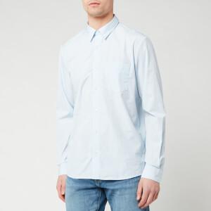 A.P.C. Men's Chemise Barthelemy Shirt - Bleu Clair