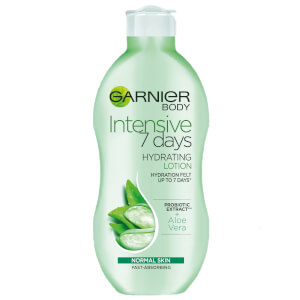 Garnier Intensive 7 Days Aloe Vera Probiotic Extract Body Lotion Normal Skin 400ml