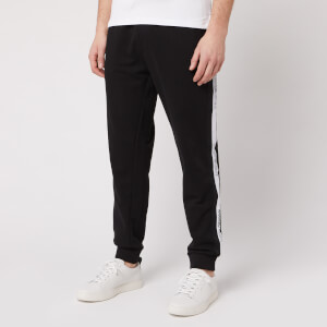Emporio Armani Men's Jersey Pants - Black