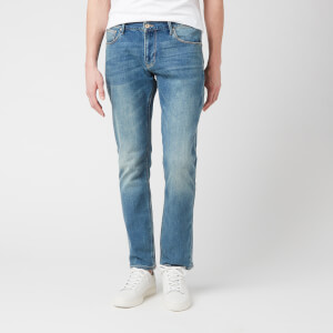 Emporio Armani Men's Slim Fit Jeans - Denim Blue Mid