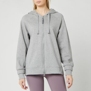 adidas by Stella McCartney Women's Essential Hoodie - Mid Grey