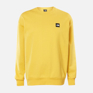 The North Face Men's Masters of Stone Crew Neck Sweatshirt - Bamboo Yellow