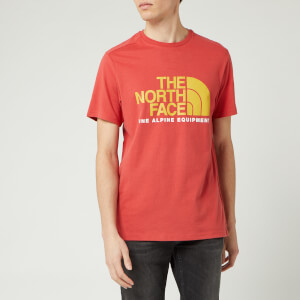 The North Face Men's Fine Alpine 2 T-Shirt - Sunbaked Red