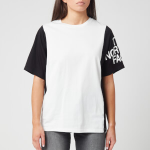 The North Face Women's Block Sesh T-Shirt - TNF White