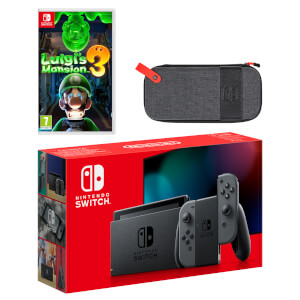 Nintendo Switch (Grey) Luigi's Mansion 3 Pack