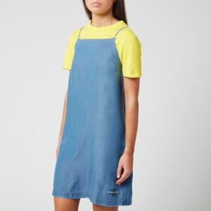 Calvin Klein Jeans Women's Indigo Tencel Slip Dress - Mid Indigo