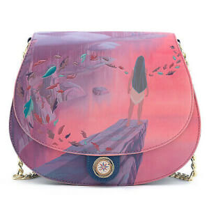 Loungefly Disney Pocahontas Colors Of The Wind Cross Body Bag