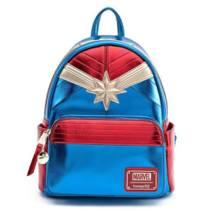 Loungefly Marvel Mini Sac à Dos Captain Marvel