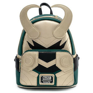 Loungefly Marvel Loki Classic Cosplay Mini Backpack