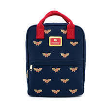 Loungefly DC Comics Dc Wonder Woman Canvas Icon Backpack