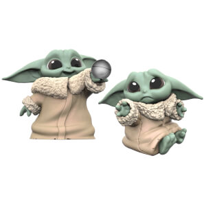 "Hasbro Star Wars: The Mandalorian Baby Bounties ""Hold Me and Ball"" Mini Figures"