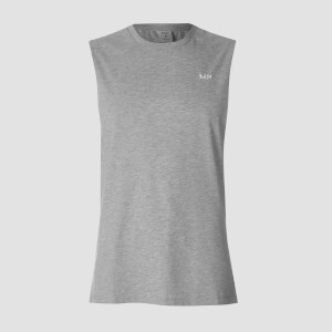 MP Men's Essentials Drop Armhole Tank - Grey Marl