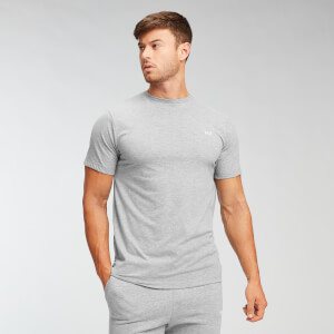 Camiseta Essentials para hombre de MP - Gris jaspeado
