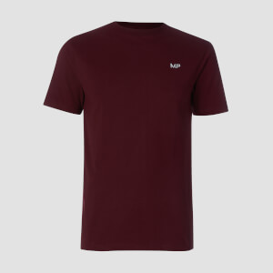 Męski T-shirt z kolekcji Essentials MP – Oxblood