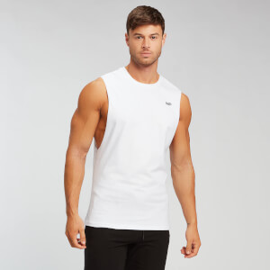 MP Men's Essentials Tank Top - Black/White (2 Pack)