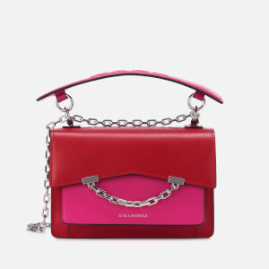 Karl Lagerfeld Women's K/Karl Seven Shoulder Bag - Fuchsia