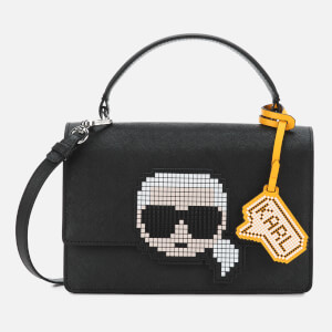Karl Lagerfeld Women's K/Pixel Top Handle - Black