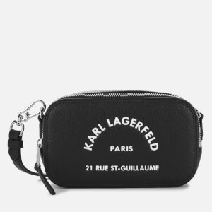 Karl Lagerfeld Women's Rue St Guillaume Cross Body Bag - Black