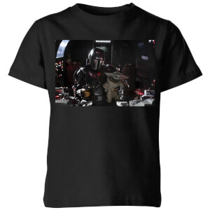 Camiseta The Mandalorian Pilot And Co Pilot - Niño - Negro