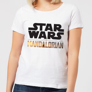 The Mandalorian Mandalorian Title Women's T-Shirt - White