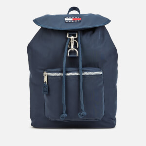 Tommy Jeans Women's Heritage Nylon Backpack - Black Iris